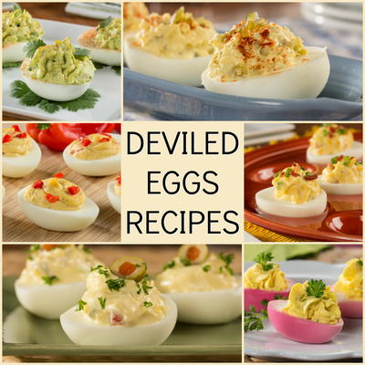 Deviled Eggs Are Great For Any Occasion You Can Tote Them Along To A Potluck Or Offer Them As Appetizers At A Holiday Party Theyre Super Simple To Make