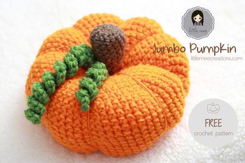 Jumbo Pumpkin Crochet Pattern Favecrafts