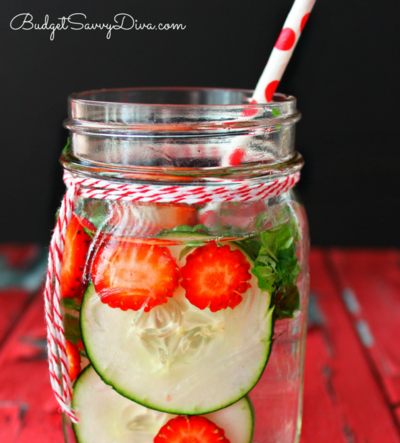 Belly Slimming Detox Water Recipe