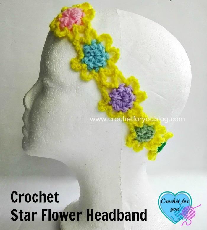Flower Power Crochet Headband Pattern Favecrafts