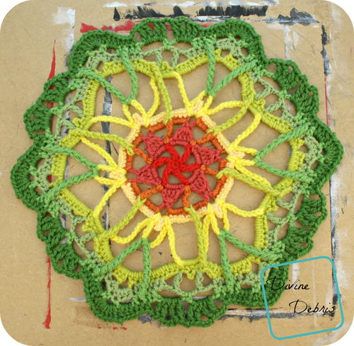 Blooming Crochet Mandala