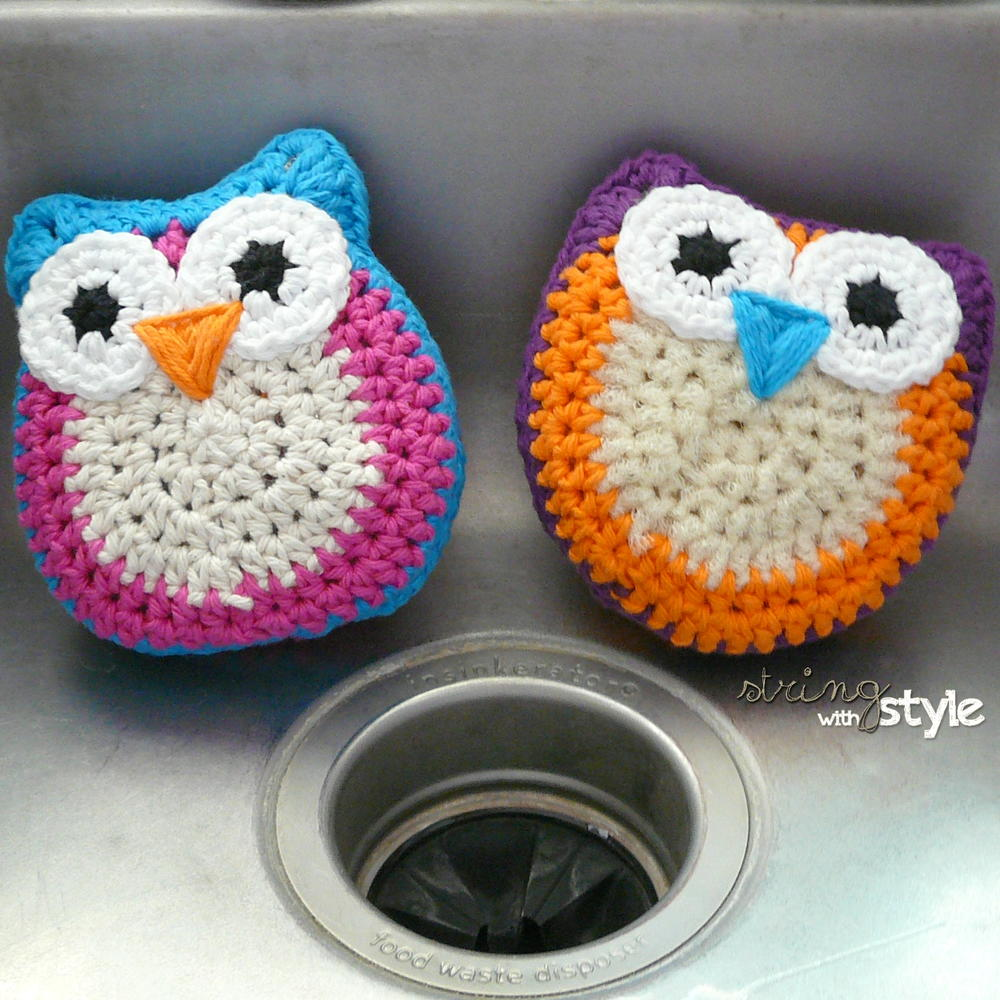 Crochet Dish Scrubbies Pattern Awesome Ideas