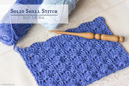How To Crochet The Solid Shell Stitch Allfreecrochet