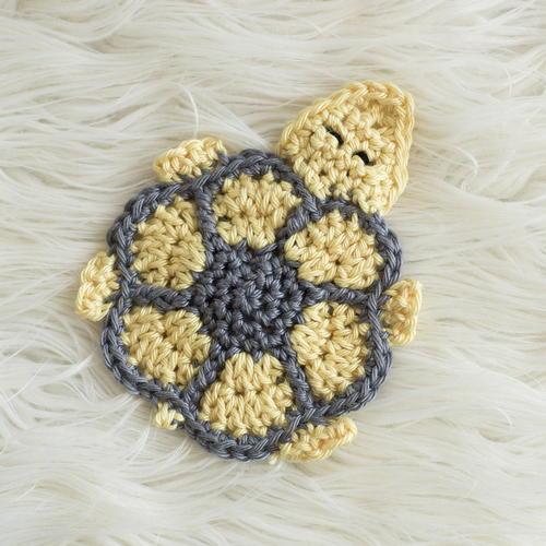 Turtle Coaster Pattern Allfreecrochet