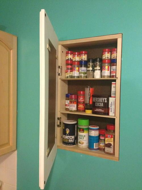 Secret Storage DIY Cabinet & Secret Storage DIY Cabinet | DIYIdeaCenter.com