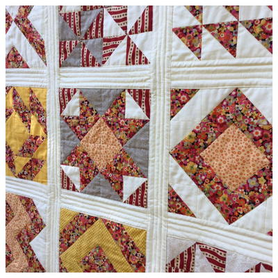 Quilt As You Go with Wide Sashing Tutorial