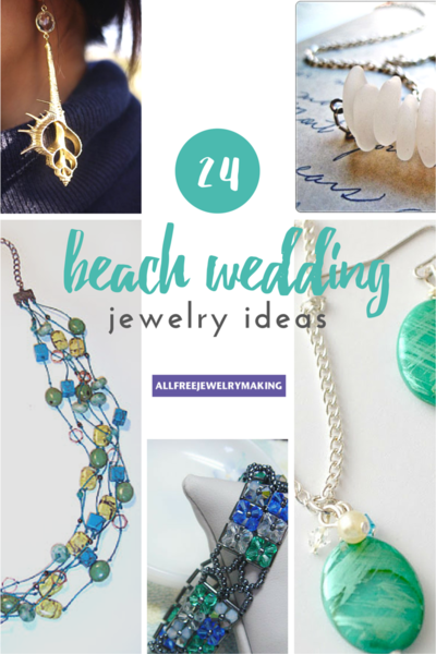 Beautiful Beach Jewelry 24 Beach Wedding Jewelry Ideas