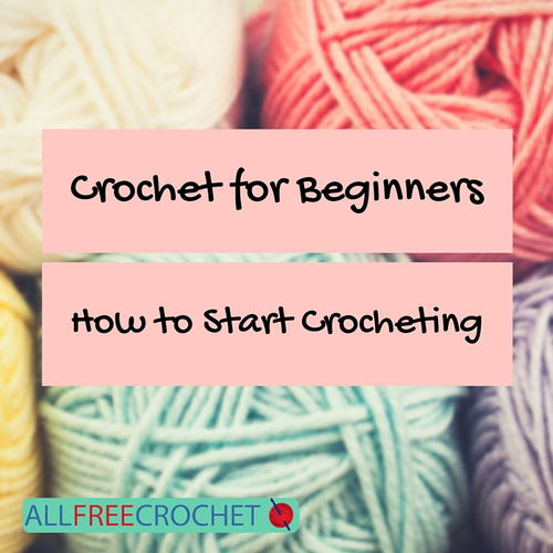 Crochet for Beginners How to Start Crocheting