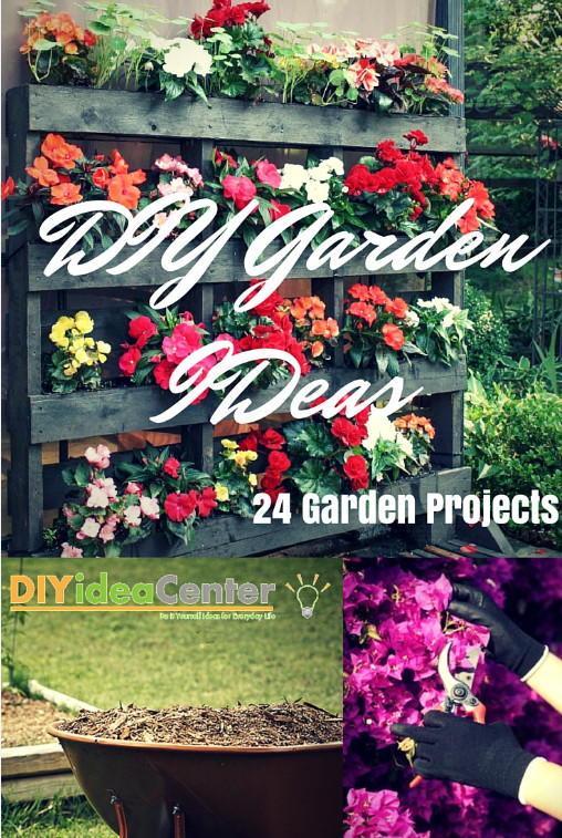 Diy garden ideas 24 garden projects diyideacenter diy garden ideas 24 garden projects workwithnaturefo