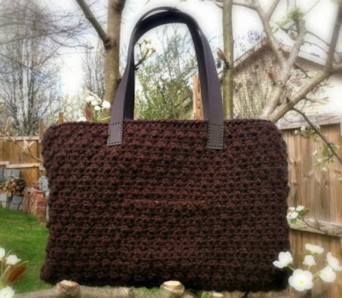 Chocolate Tote Crochet Pattern Favecrafts