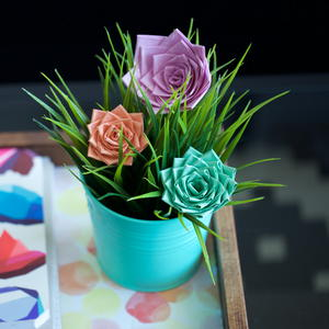 Duct Tape DIY Roses