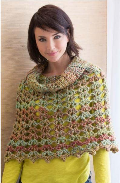 62 Crochet Poncho Patterns Allfreecrochet