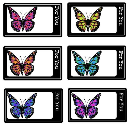 Butterfly free printable gift tags allfreepapercrafts butterfly free printable gift tags negle Images