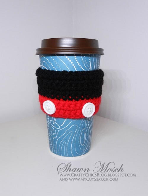 Mickey Mouse Coffee Sleeve