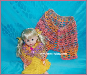 Dolly and Me Whimsical Cape