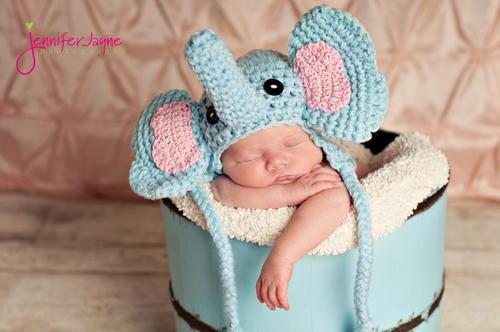 Elephant Crochet Hat Free Pattern Allfreecrochet