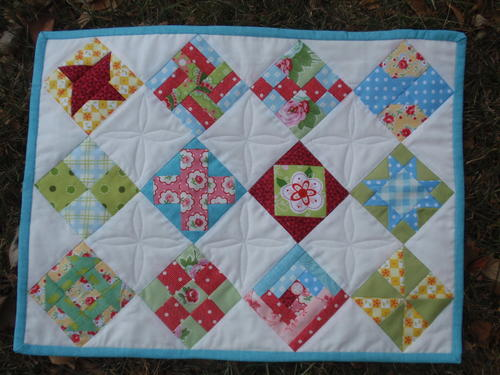 Sew Simple Sampler Quilt Pattern FaveQuilts Interesting Sampler Quilt Patterns