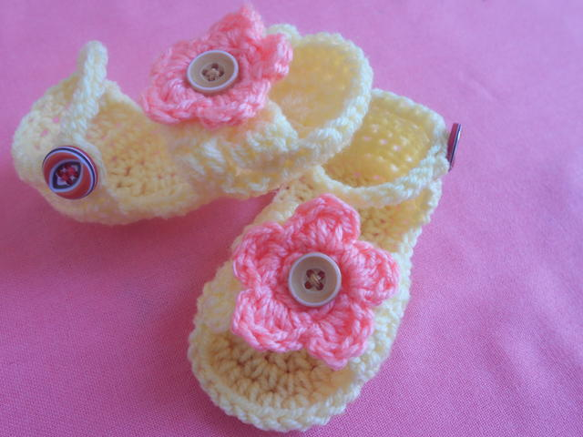 Baby Sandals Crochet Pattern Favecrafts