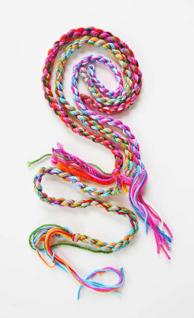 How to Make Yarn Rope