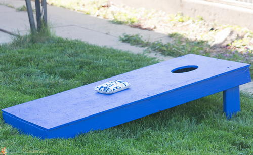 Easy DIY Cornhole Board Tutorial