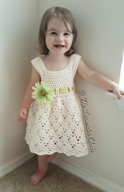 Vintage Toddler Dress Allfreecrochet Com