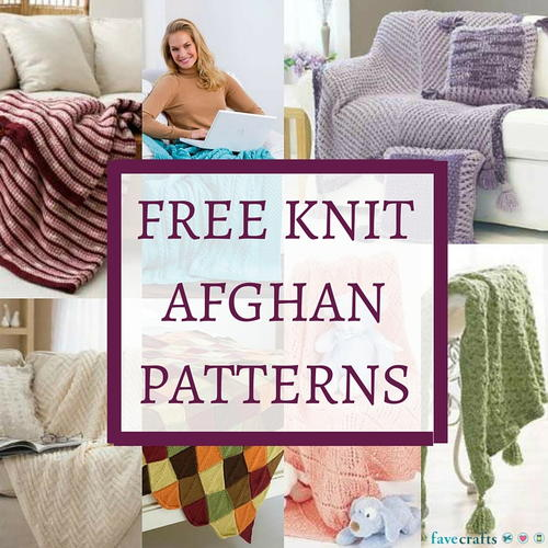 31 Free Knit Afghan Patterns