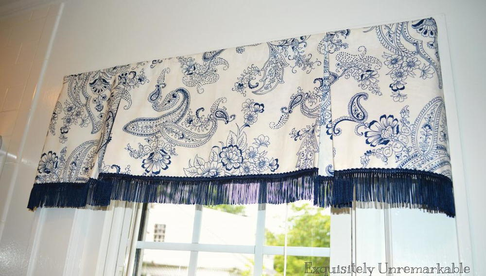 Box Pleat Valance On A Rod Allfreesewing Com