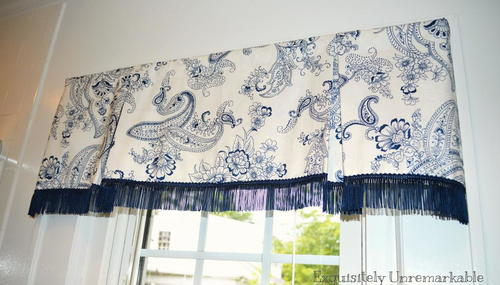 valances scarves home n l window blackout the b valance windows sand polyester in depot for compressed treatments elrene single