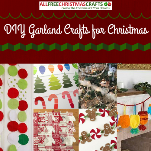 24 DIY Garland Crafts for Christmas