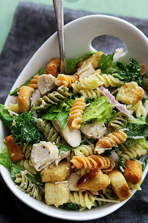 Mama's Best Chicken Caesar Pasta Salad