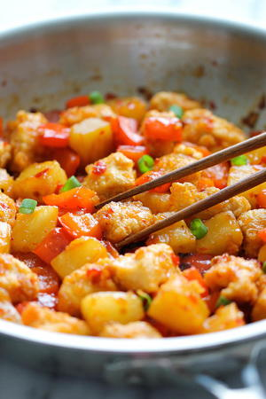 Panda Express Sweet Fire Chicken Copycat Recipe