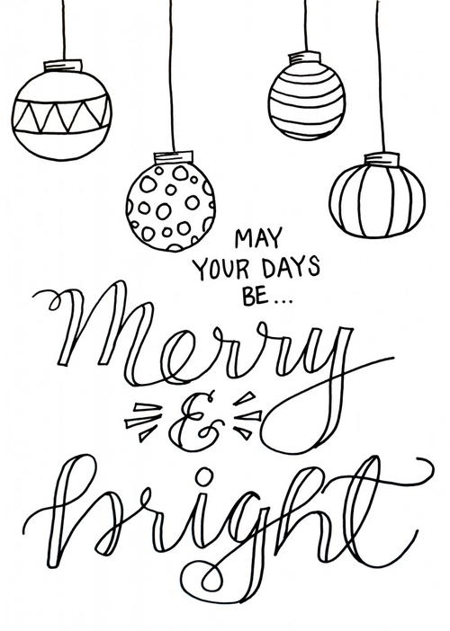 Christmas Colouring Pages | Merry christmas coloring pages ... | 702x500