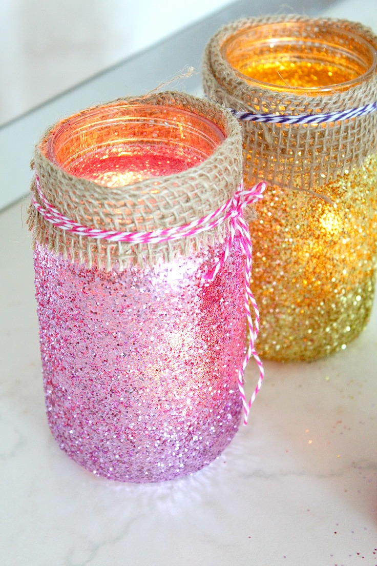 Luminous Mason Jar Crafts | FaveCrafts.com