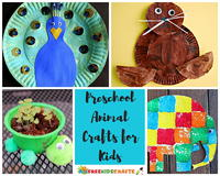 100+ Easy Crafts for Kids: Preschool Animal Crafts and Farm Animal Crafts for Kids