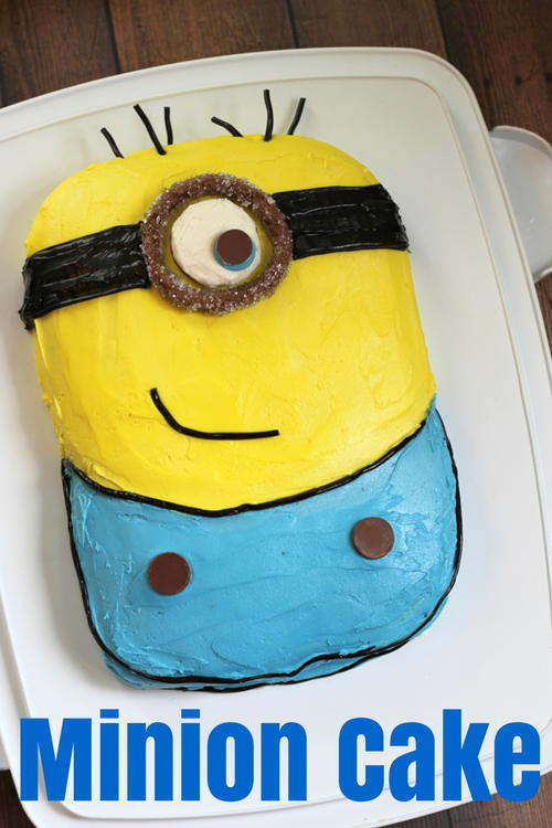 How to Make a Minion Cake