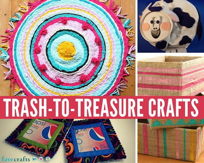 26 Great Trash-to-Treasure Crafts