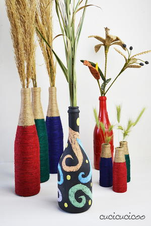 Customizable Wine Bottle Crafts