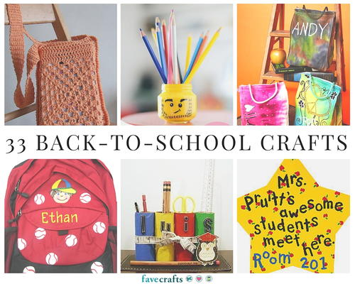33 Back-to-School Crafts