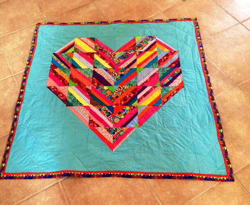 Be My Valentine Quilt Pattern Favecrafts Com