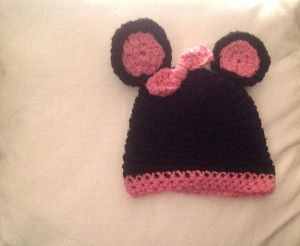Mickey and Minnie Crochet Hats | AllFreeCrochet.com
