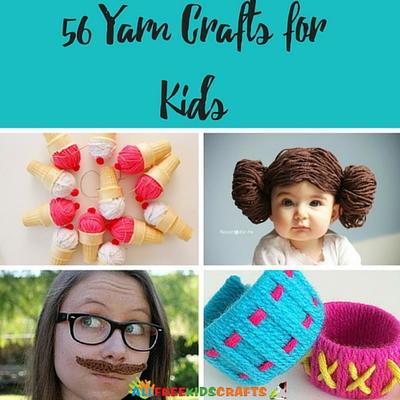56 Yarn Crafts For Kids Allfreekidscrafts