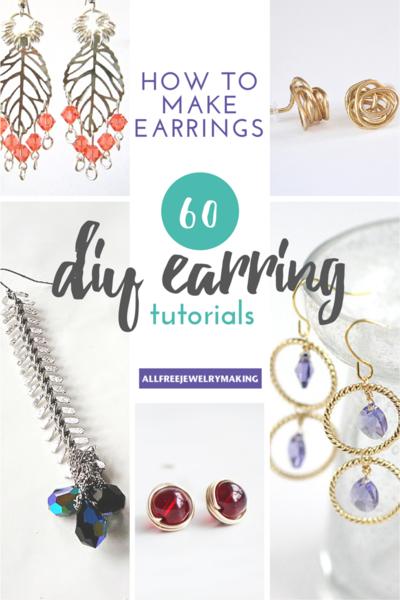 How to Make Earrings: 60+ DIY Earrings | AllFreeJewelryMaking.com