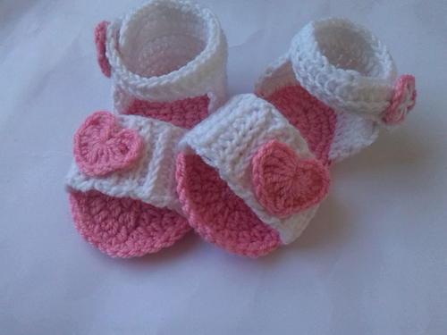 Baby Sandal Crochet Pattern Favecrafts