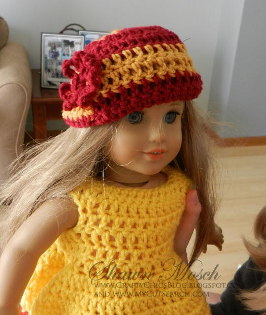 Team Spirit American Girl Doll Hat