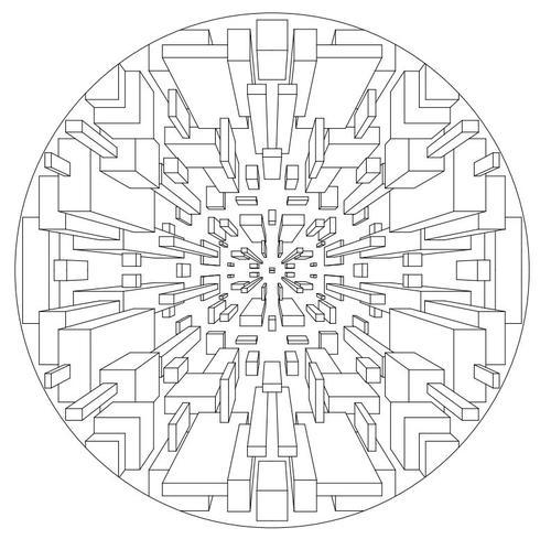 Marvelous Mandala Coloring Pages   AllFreePaperCrafts.com