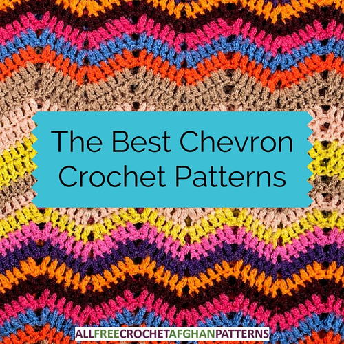 The Best Chevron Crochet Patterns Allfreecrochetafghanpatterns