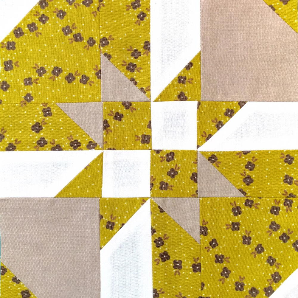 Disappearing Hourglass Quilt Block | FaveQuilts.com