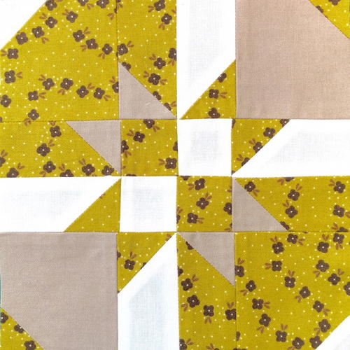 Disappearing Hourglass Quilt Block