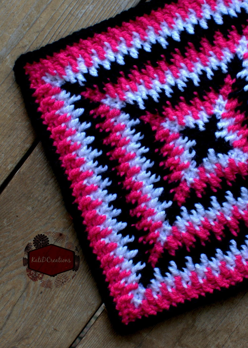 Mosaic ripples granny square allfreecrochet bankloansurffo Images