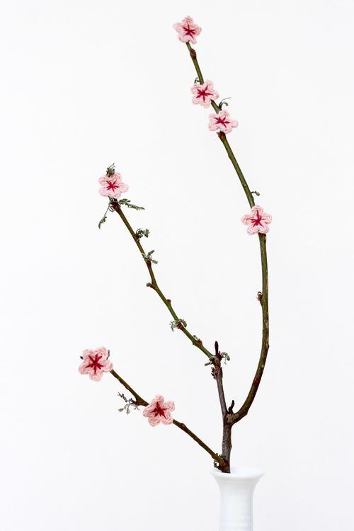 Crochet Cherry Blossom Allfreecrochet